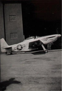 11th Fighter Squadron's P-51, Shemya, 1946.