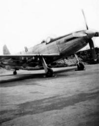 11th Fighter Squadron P-51, Shemya, 1946. Dan Lange