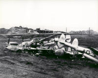 More P-38s Destroyed On Shemya. [George L. Smith